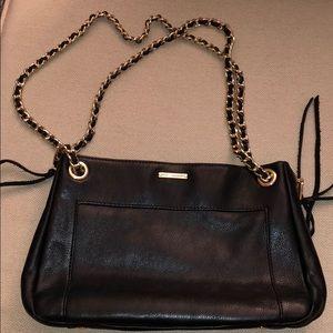 Black Leather Rebecca Minkoff Bag